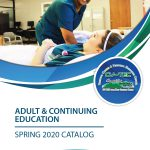 Spring 2018 Adult Education Catalog Cover