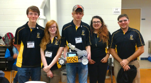 Team RoBEEtics and BEEtrice the robot