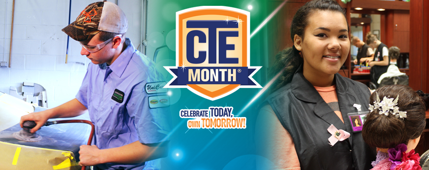 February is National CTE Month