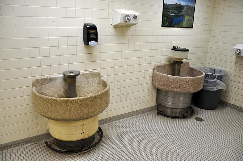 Bathrooms of Main Campus