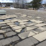 Cracked Tiles on Main Campus Roof