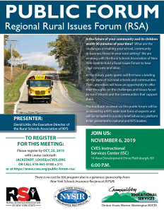 Rural Issues Forum 2019