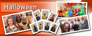 Image of photographs taken during this year's Halloween!