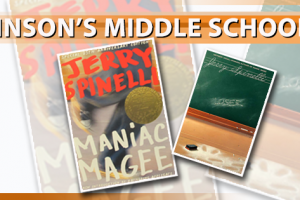 Banner for an article on Mr. Johnson's Middle School Class