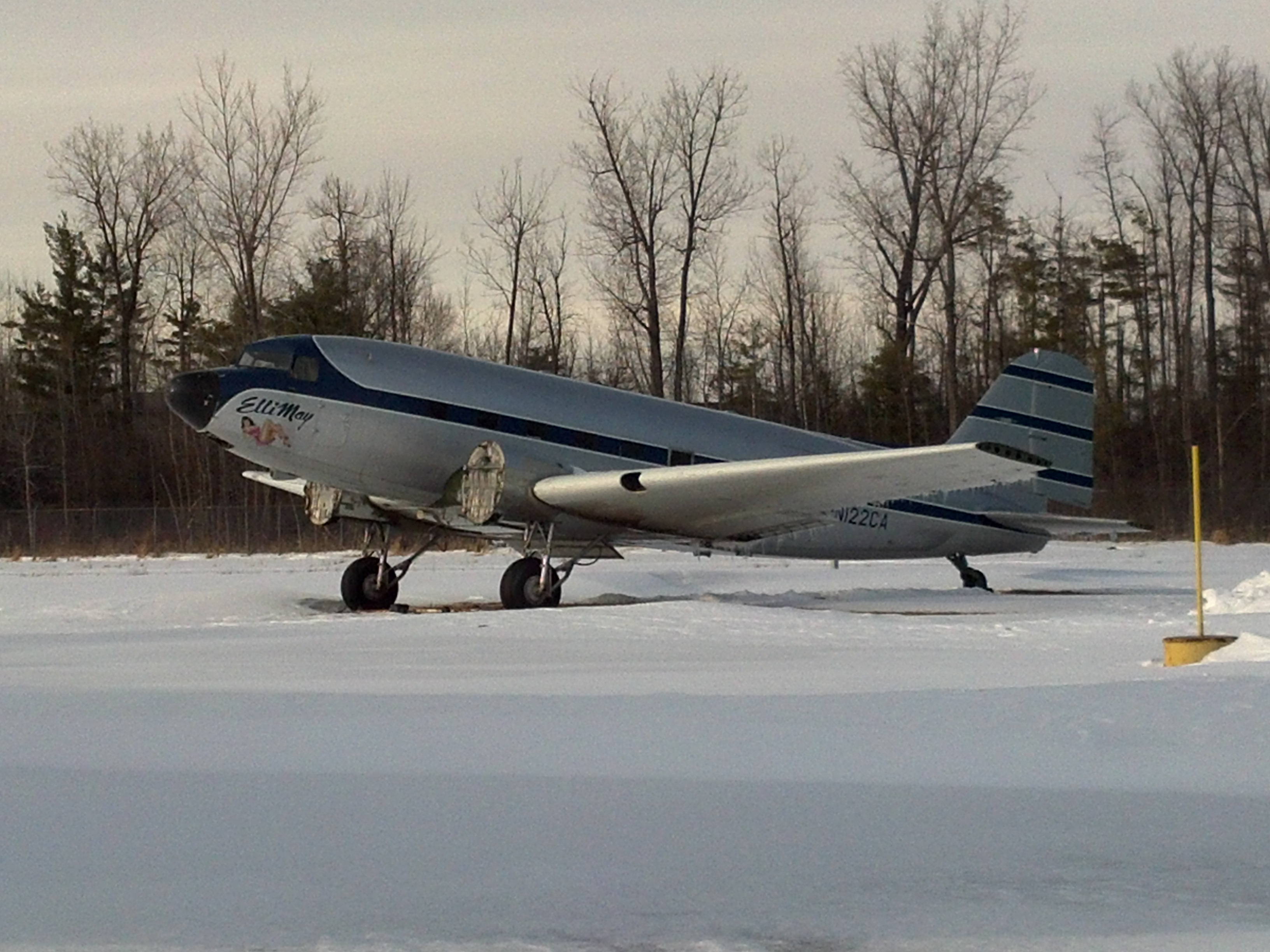 Photo of the DC-3 - Airframe
