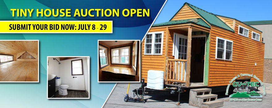 CV-TEC Tiny House Open for Bids